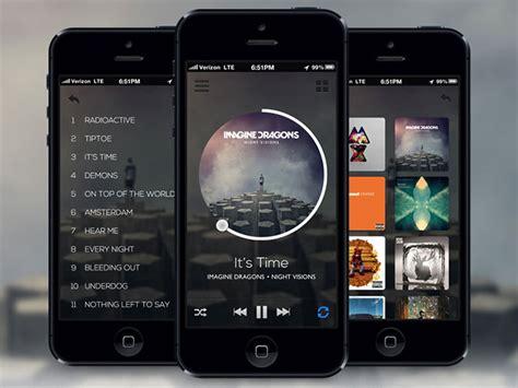 iplayer mobile 43 stunning mobile app ui designs inspiration web