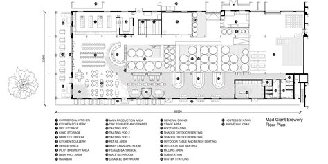 Floor Plan Picture gallery of mad giant beer interior haldane martin 19