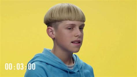 hair bowl cut kid tesla really went all in with this kids version of the