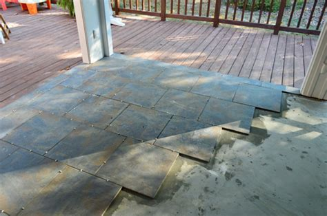Tiling, Cleaning, And Grouting An Outdoor Area   Young