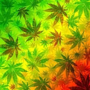 marijuana leaves rasta pattern digital art by bluedarkart lem