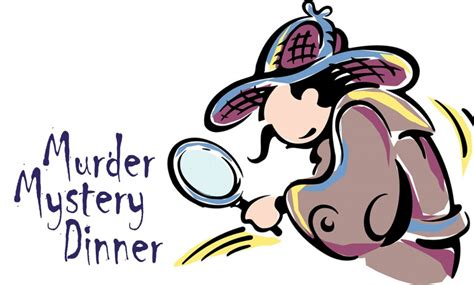free mystery dinner murder mystery clip clipart best
