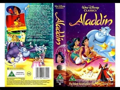 Kids Movie About A Toaster Opening Of Aladdin Uk Vhs 1994 Youtube