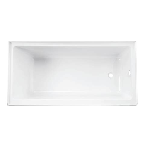 tile flange for bathtub wet republic equinox 5 ft lucite acrylic rectangular drop