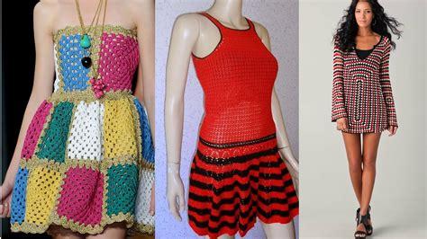 vestidos de tejido vestidos para se 241 oritas tejidos a crochet imagenes youtube