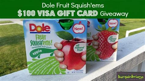 Ems Giveaways - briana s game day tips dole squish ems review 100 visa gift card giveaway