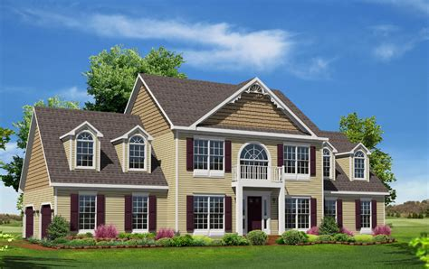 Floor Plans For Colonial Homes by Westmoreland Two Story Style Modular Homes