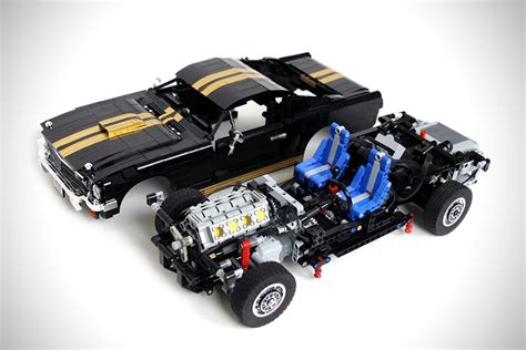 lego ford mustang lego rc 1965 ford mustang gt 350 h hiconsumption