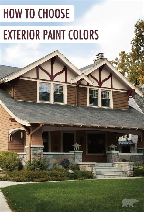 How To Choose Exterior Paint Colors For Your House by The Outside Of Your Home Is The Best Place To Make A First