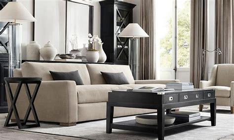 restoration hardware living room rooms restoration hardware decorating