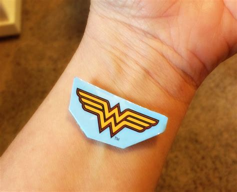 wonder woman wrist tattoo the gallery for gt designs