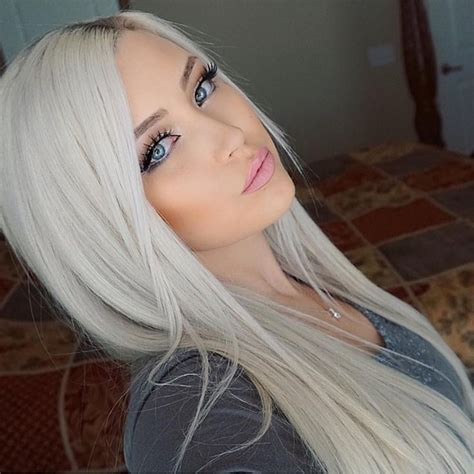 age for icy blonde hair 540 best images about silver white platinum hair on
