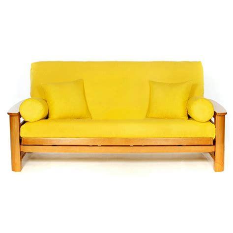 yellow futon cover size dcg stores