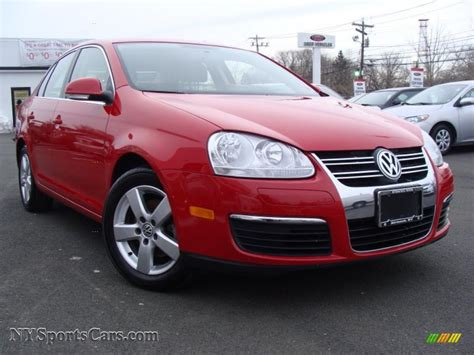 red volkswagen jetta 2008 2008 volkswagen jetta se sedan in salsa red 165376
