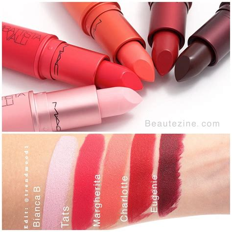 Lipstick Mac Giambattista Valli review m a c giambattista valli shashay