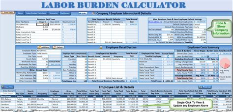 7 steps to calculate your employee labor burden costs what is labor burden these 3 steps just might save your