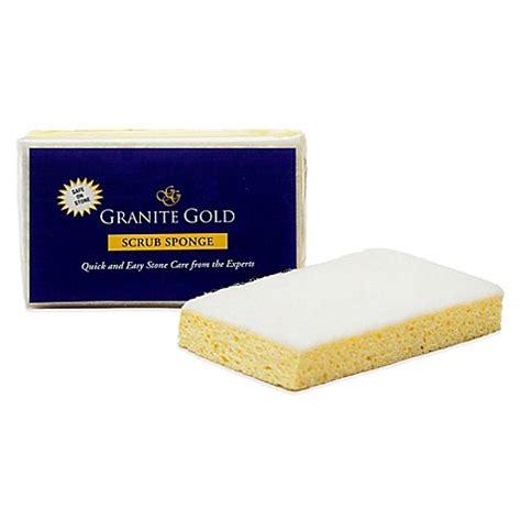 bed bath and beyond uniform granite gold 174 scrub sponge bed bath beyond