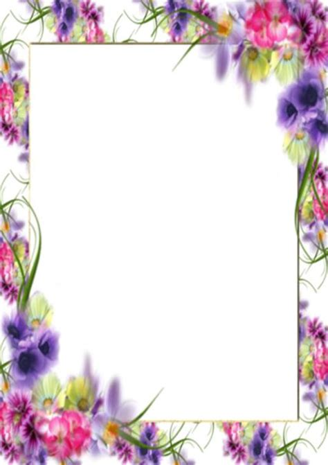 printable paper with flower border 896 best images about border paper on pinterest free