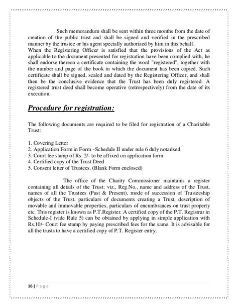 charity application letter charity trustee application letter 28 images cover
