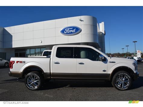 pictures of ford f150 king ranch 2016 white platinum ford f150 king ranch supercrew 4x4