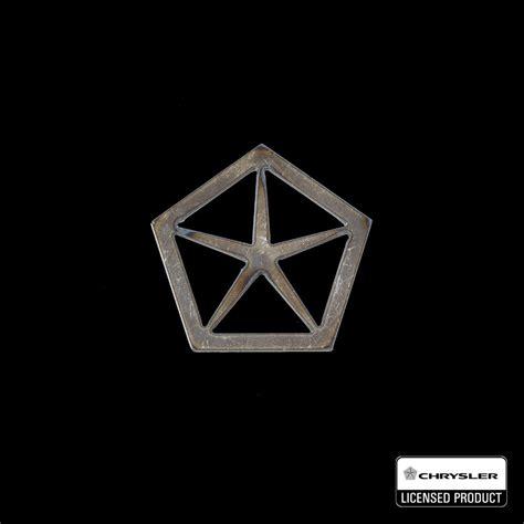star motors logo chrysler penta star emblem speedcult officially licensed