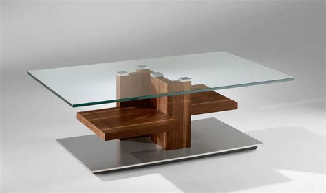 glass coffee tables modern modern glass and wood coffee table