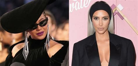 beyonce kim kardashian top off people are convinced beyonce is dissing kim kardashian on