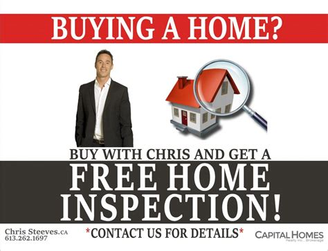 who pays for the inspection when buying a house free home inspection for buyers chris steeves