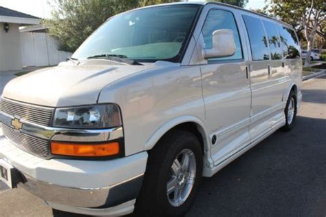 2007 chevrolet express 1500 purchase used 2007 chevrolet express 1500 explorer limited se conversion van in costa mesa