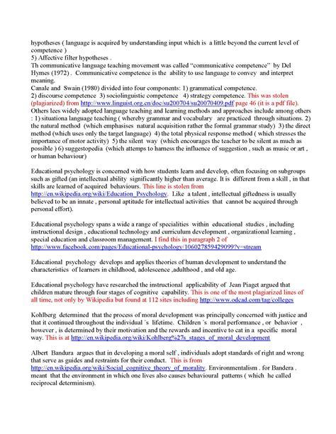 Is My Essay Plagiarized by Universidad Nacional Pedro Ru 237 Z Gallo Per 250 Arthur Frederick Ide S
