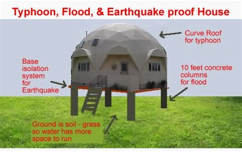 earthquake safe house designs typhoon flood earthqauke house designs