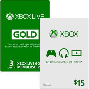 Xbox 15 Gift Card - 33 off xbox live gold coupons deals 12 months for 40
