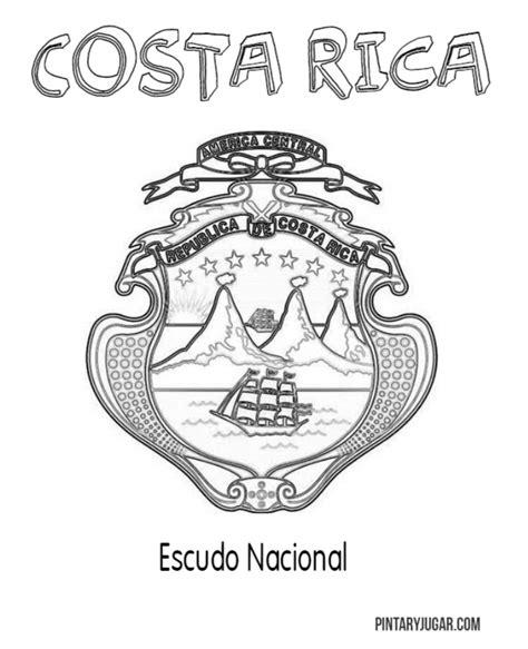 imagenes de simbolos nacionales de costa rica para colorear colorear s 237 mbolos nacionales de costa rica colorear tus