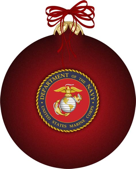 marine corps christmas ornamen by witcheewoman on deviantart