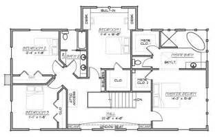 5 Bedroom Farmhouse Floor Plans farmhouse style house plan 5 beds 3 00 baths 3006 sq ft