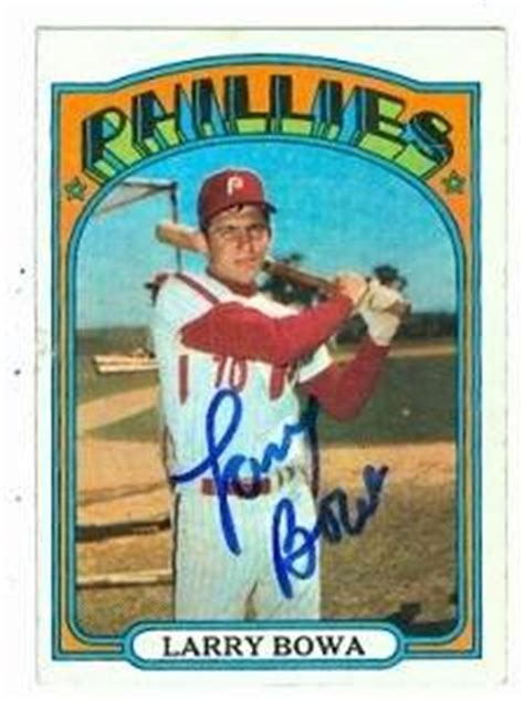 Bowa The Suitcase Pet Store Play Set Koper Mc 599 larry bowa autographed baseball card philadelphia phillies 1972 topps 520 at s sports