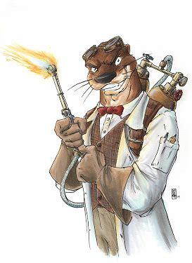 loial otter wikifur  furry encyclopedia