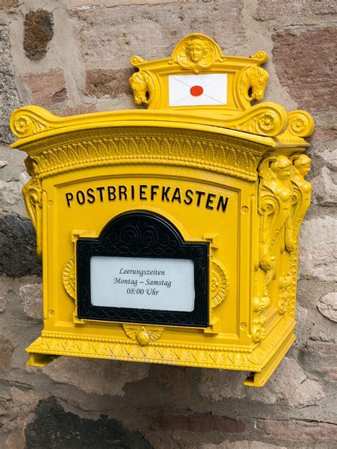 kostenlose foto holz box moebel gelb briefkasten