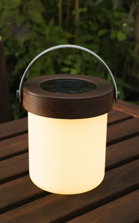 Solar Patio Table Lights Enjoy Those Beautiful Summer Nights After The Sun Goes With This Led Solar Powered