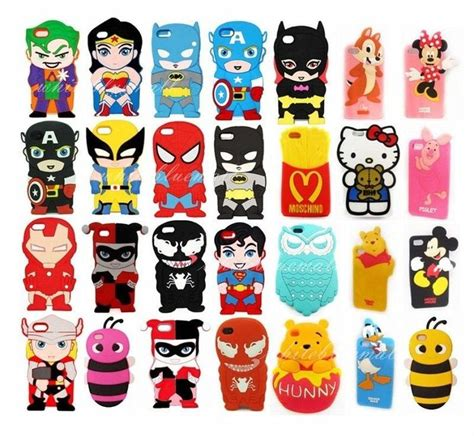 Iphone5 3d Kisd iphone 5 5s 4 4s 5c 3d animal cases silicone covers also for ipod 4 5 iphone cases