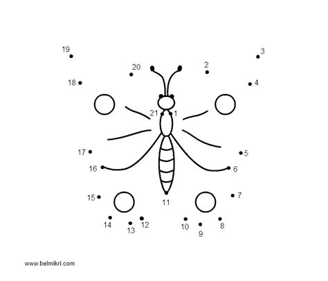 Printable Dot To Dot Butterfly | free extreme dot to dot coloring pages