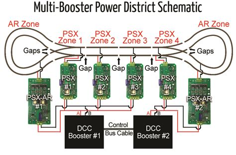 dcc wiring boosters diagrams wiring diagram with description