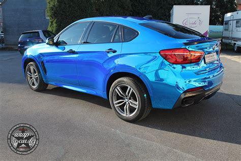 Autofolierung Nrw by Bmw X6 Chrom Blau Autofolierung Nrw Wrap A Car