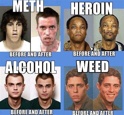 Heroin Memes - drugs before and after 9gag