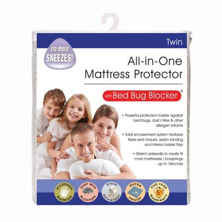 original bed bug blocker zippered mattress protector walmartcom