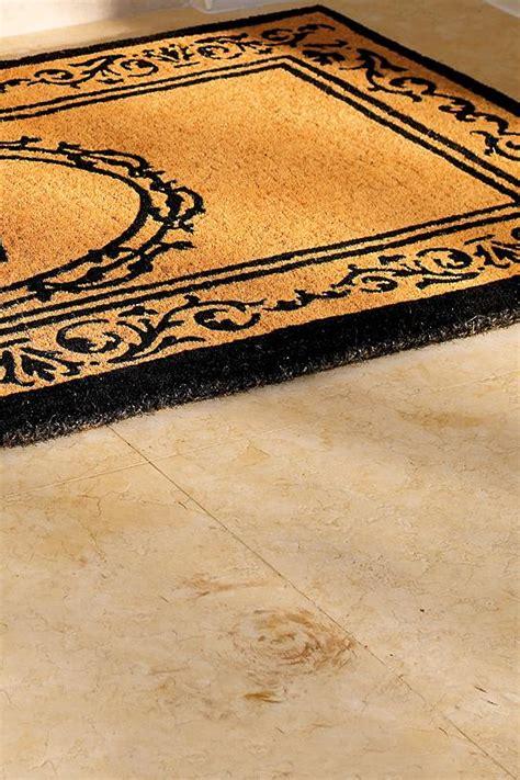 Frontgate Doormats - hudson monogrammed door mat frontgate