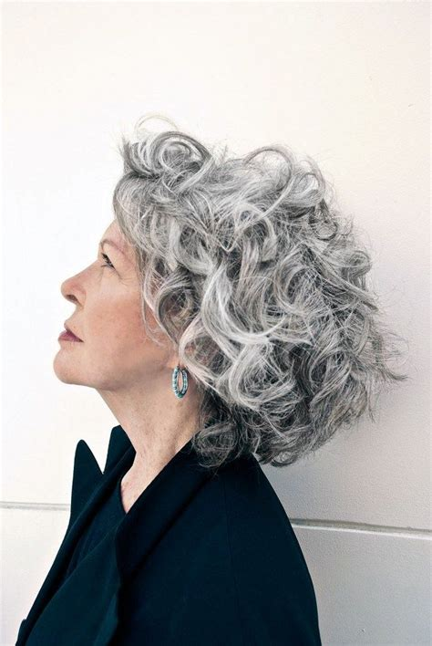 best perm for gray hair 1000 ideas about curly gray hair on pinterest long gray