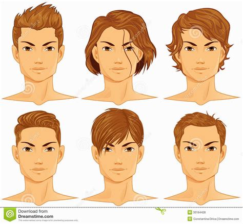 hairstyles cartoon images male hairstyles cartoon hairstyles ideas
