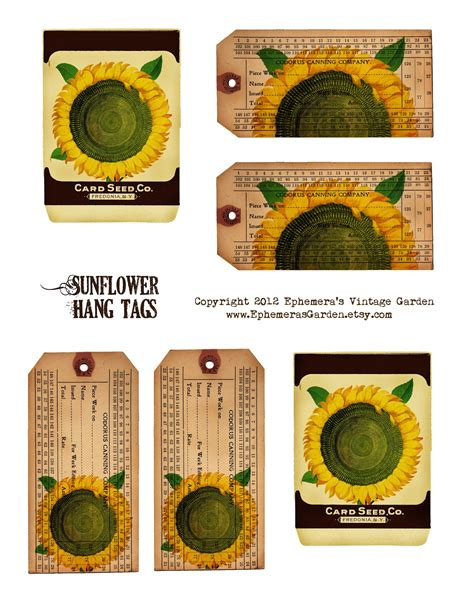 printable hang tags 6 best images of printable vintage hang tags free