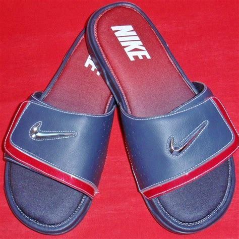 nike comfort flip flops men new men s nike comfort slide 2 flip flops memory foam